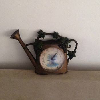 Time Keeping Watering Can - Clocks
