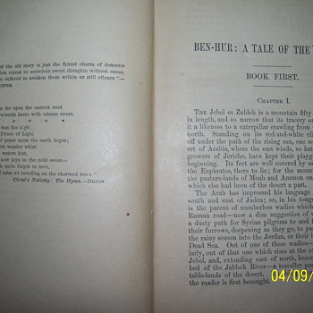 1880 ben-her the tale of christ  - Books