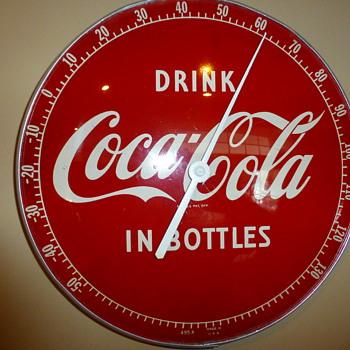 1950's Coca-Cola Thermometer
