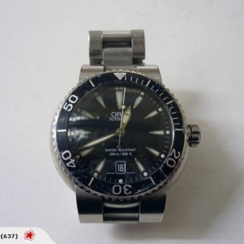 Help me restore my Oris Diving Watch 7533p