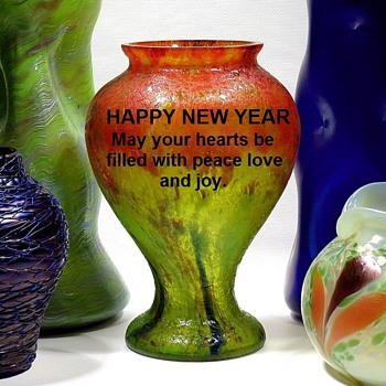 Happy New Year Glass Collectors - Art Glass