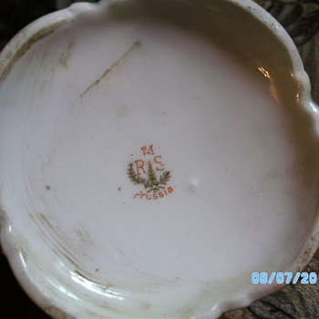 RSPrussia Chocolate Pot  - China and Dinnerware
