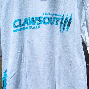 Claws Out III t-shirt, 2008