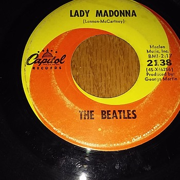 """Lady Madonna..Children At Your Feet..Wonder How You Manage To Make Ends Meet....."". - Records"