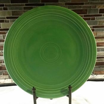 Fiesta Green Cake Platter?