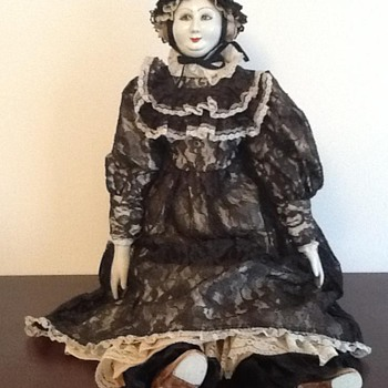 Queen Victoria Artisan Doll