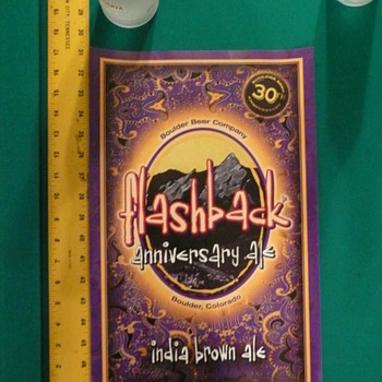 Boulder Brewing Co Flashback Anniversary Ale India Brown Ale Poster