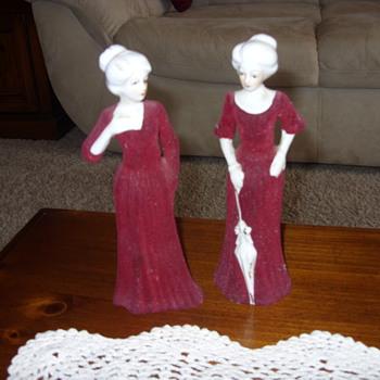 victorian porcelian women