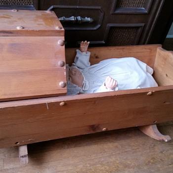 pine cradle