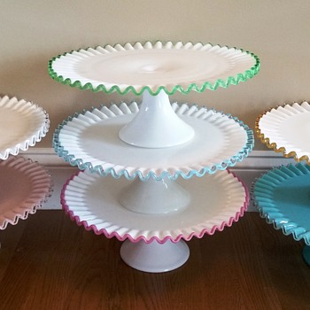 My Vintage Fenton Crest Collection