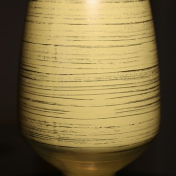 Freeman-McFarlin Rocket Vase in Yellow and Gold