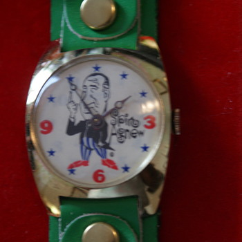 Spiro Agnew Watch Set
