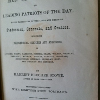 Men of our Times, Harriet Beecher Stowe - Books