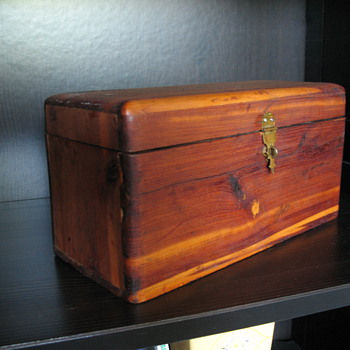 Small Cedar Wood Box