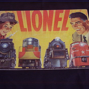LIONEL TRAINS 1954 CATALOG  - Model Trains