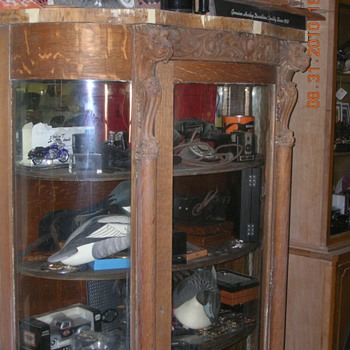 ANTIQUE CHINA CABINET - Furniture