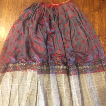 Antique Ethnic Skirt But From Where? - Womens Clothing