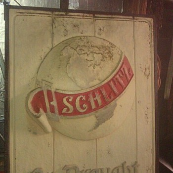 SCHILTZ OUTSIDE BAR SIGN