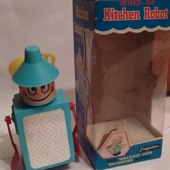 1960's Cragstan Kitchen Robot !!!! - Toys