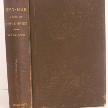 Ben-Hur 1880 date 1st post - Books