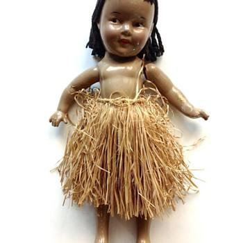 Shirley Temple Hawaiian Hawaii Hula Doll - Dolls