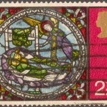 "1971 - Britain ""Christmas"" Postage Stamps"