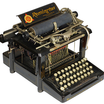 Remington 2 typewriter - 1894 - Office