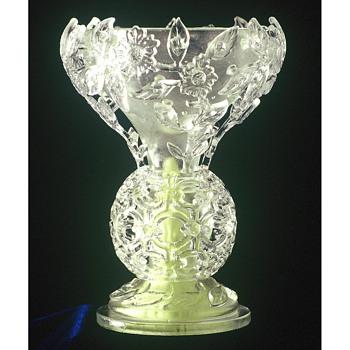 4 Jory diatreta vases