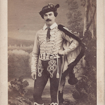 Theatrical Actor CDV by Disdéri of Paris, France