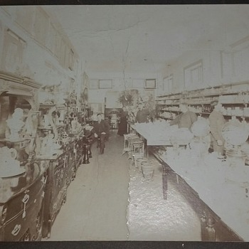 A 19th Century Victorian Antiques Shop