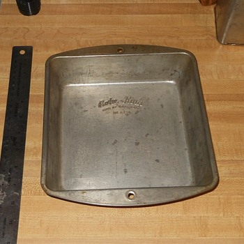 Bake-King 8 Inch Baking Pan Circa 1950