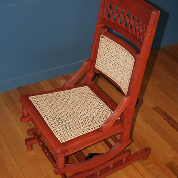 An intriguing rocking chair - Furniture