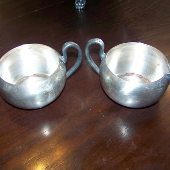 Creamer set ? - Sterling Silver