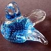 Swedish glass bird