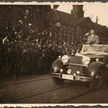 1936 - Photograph of Hitler - Photographs