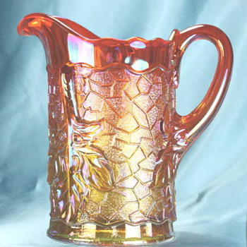 Maple Leaf Jug - Dugan - Glassware