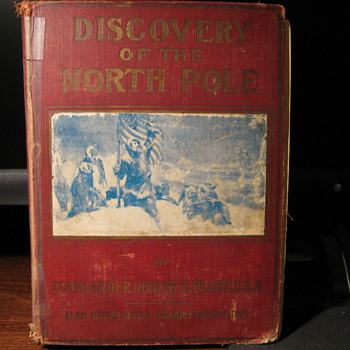 Discovery of the North Pole 1909 - Books