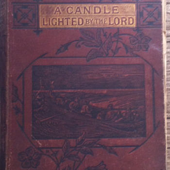 A candle lighted by the lord. With 24 pictures. - Books