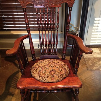My new rocking chair