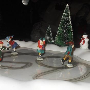Deprtment 56 Animated Skating Pond Part 2