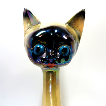 JEMA mold 500 Siamese cat - Figurines