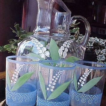 Beautiful Set - Glassware