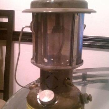 Army Gas Lantern  - Military and Wartime