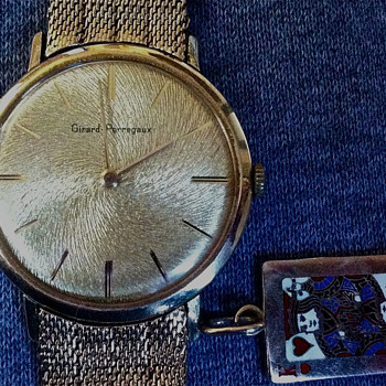Girard Perregaux 14k - King of Hearts Charm(?) - Gold Band - Wristwatches
