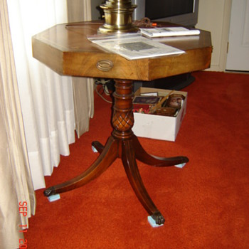 Drum Table - Furniture
