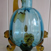 Thomas Webb... Amber and Ice Blue Jug