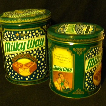 1980s Milky Way Cans - Advertising