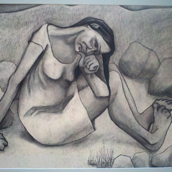 Unknown Charcoal - Visual Art