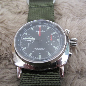 cool japanese mechanical chronograph - Wristwatches