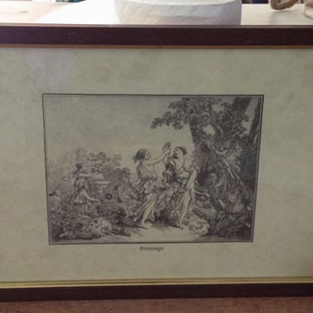 2nd Italy print Titled: PRINTEMPS
